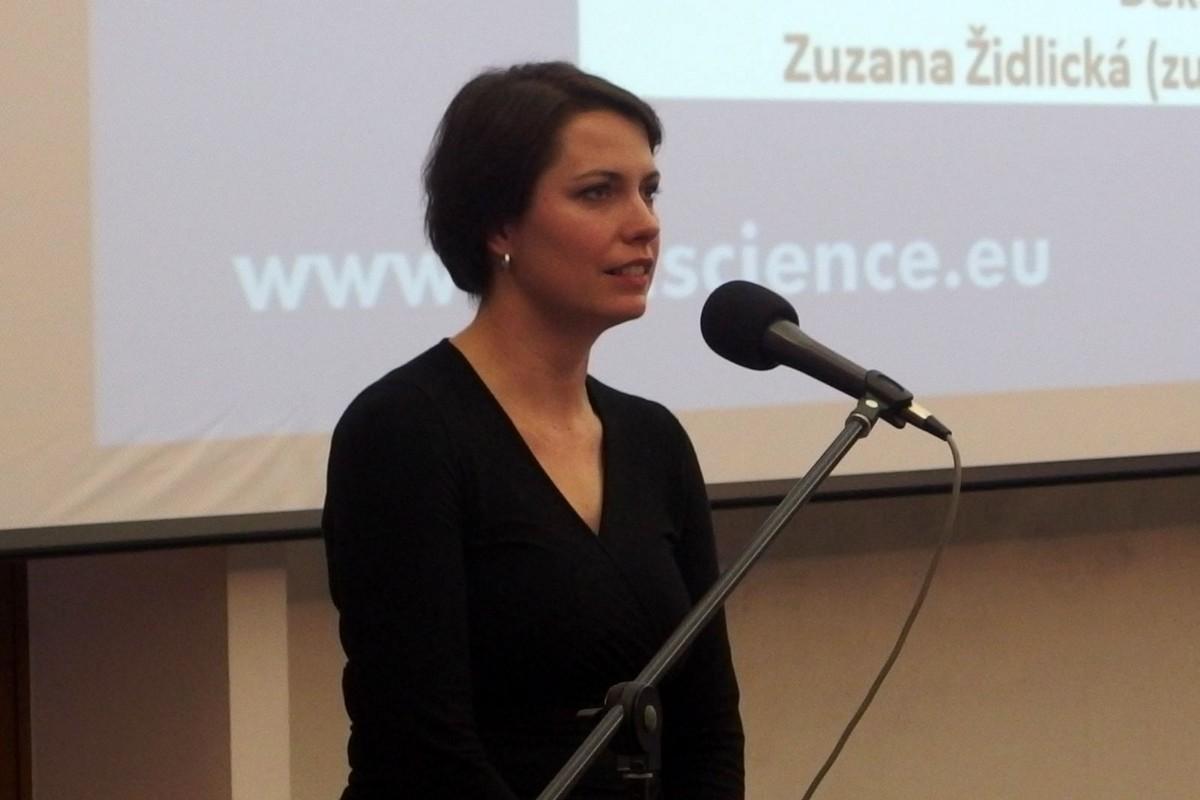 Zuzana Židlická představila čtvrtletník MM Science Journal