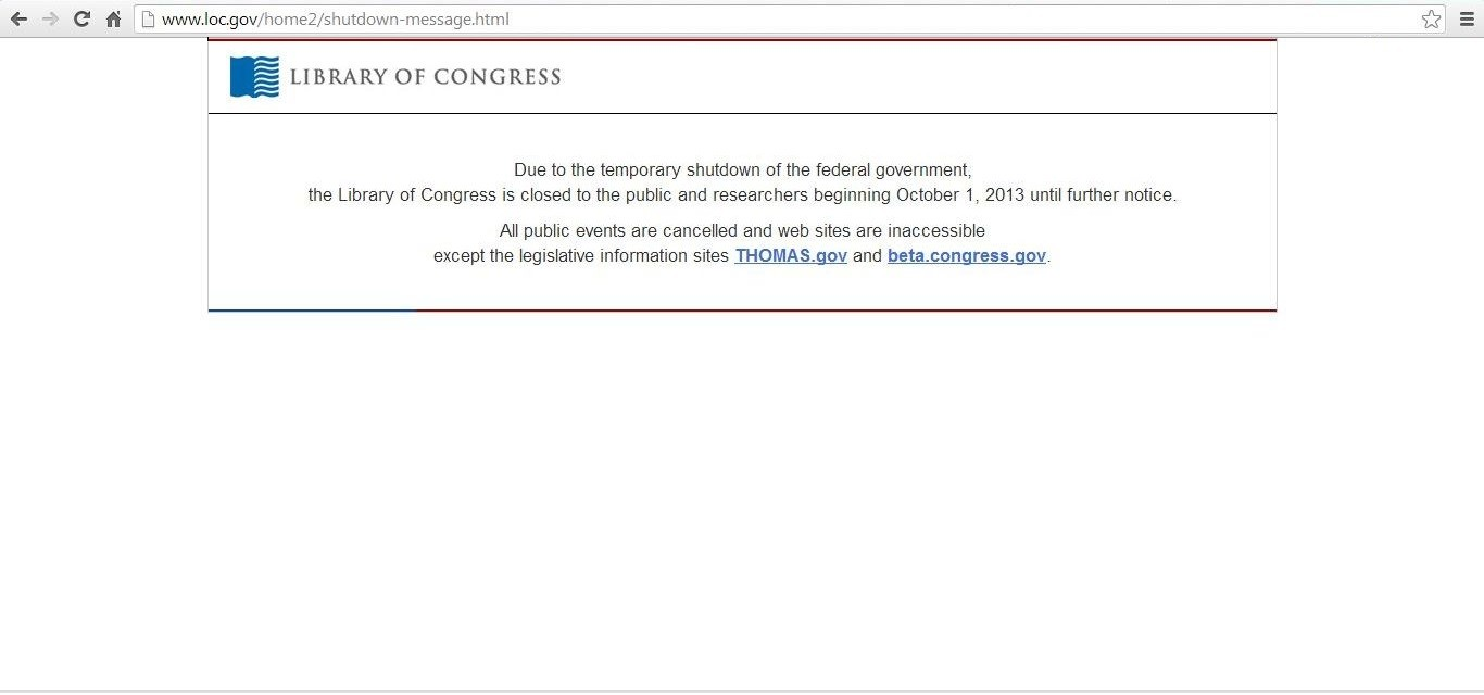 Blackout v Library of Congress