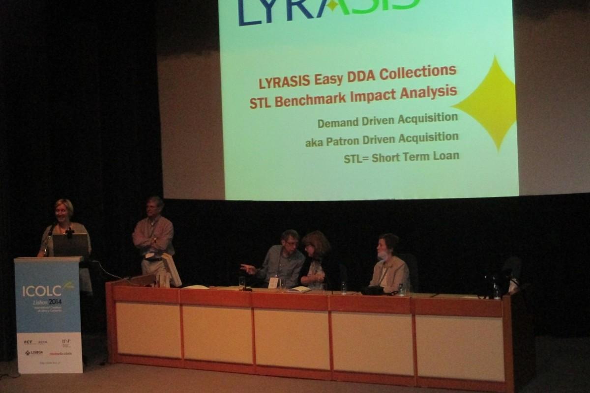 Přednáška konsorcia LYRASIS