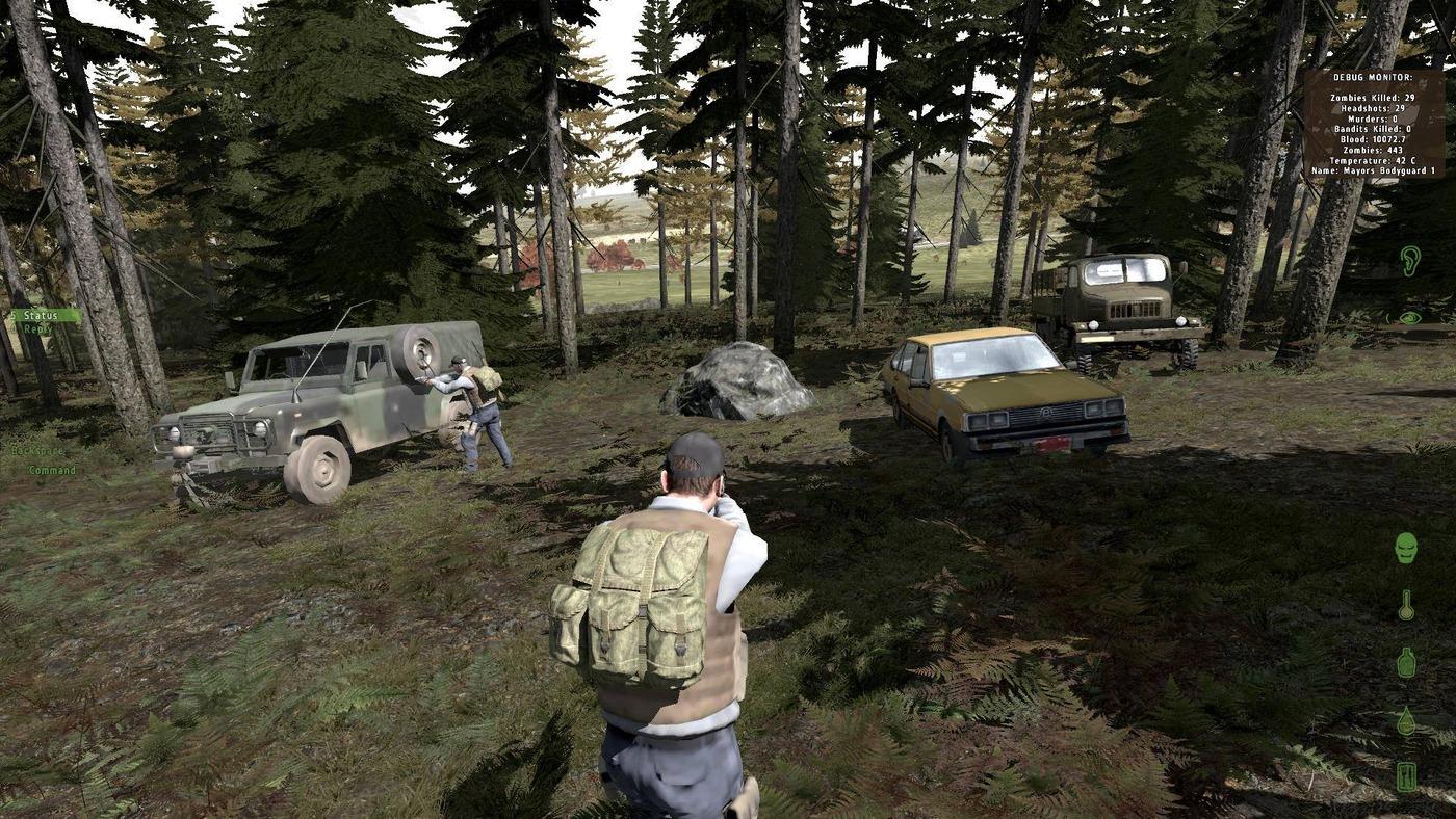 Screenshot z počítačové hry DayZ