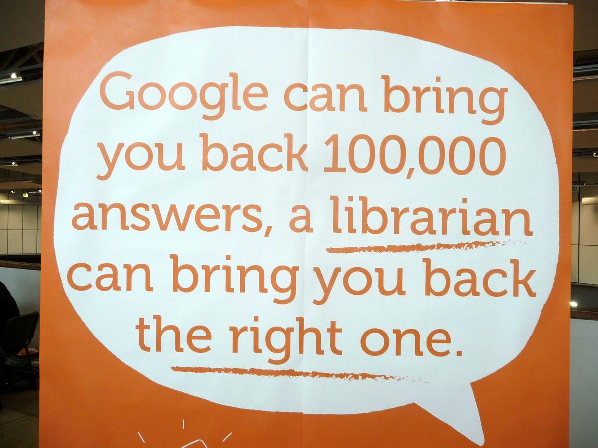 Reklama na knihovnu