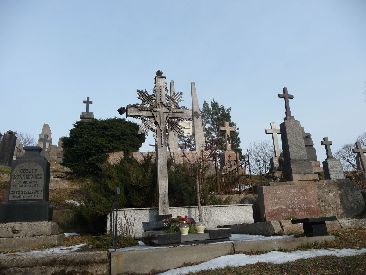 Hřbitov Rasos, na kterém jsou pochováni někteří litevští, polští a běloruští umělci