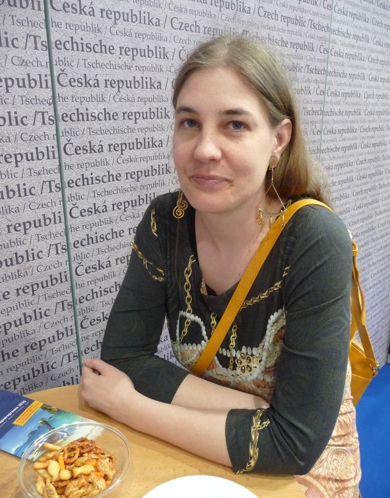 Básnířka Tereza Riedlbauchová