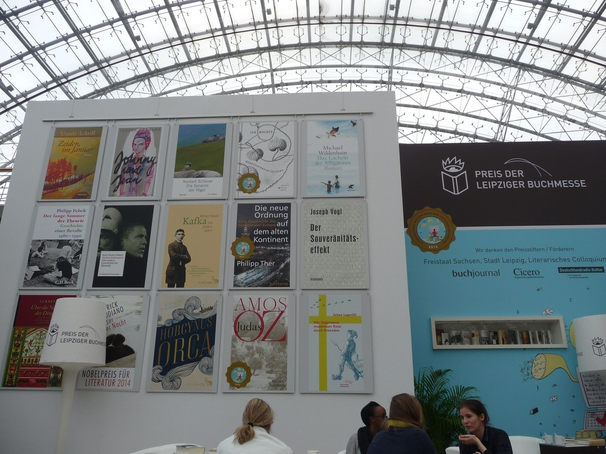 Knihy nominované na Cenu Lipského knižního veletrhu