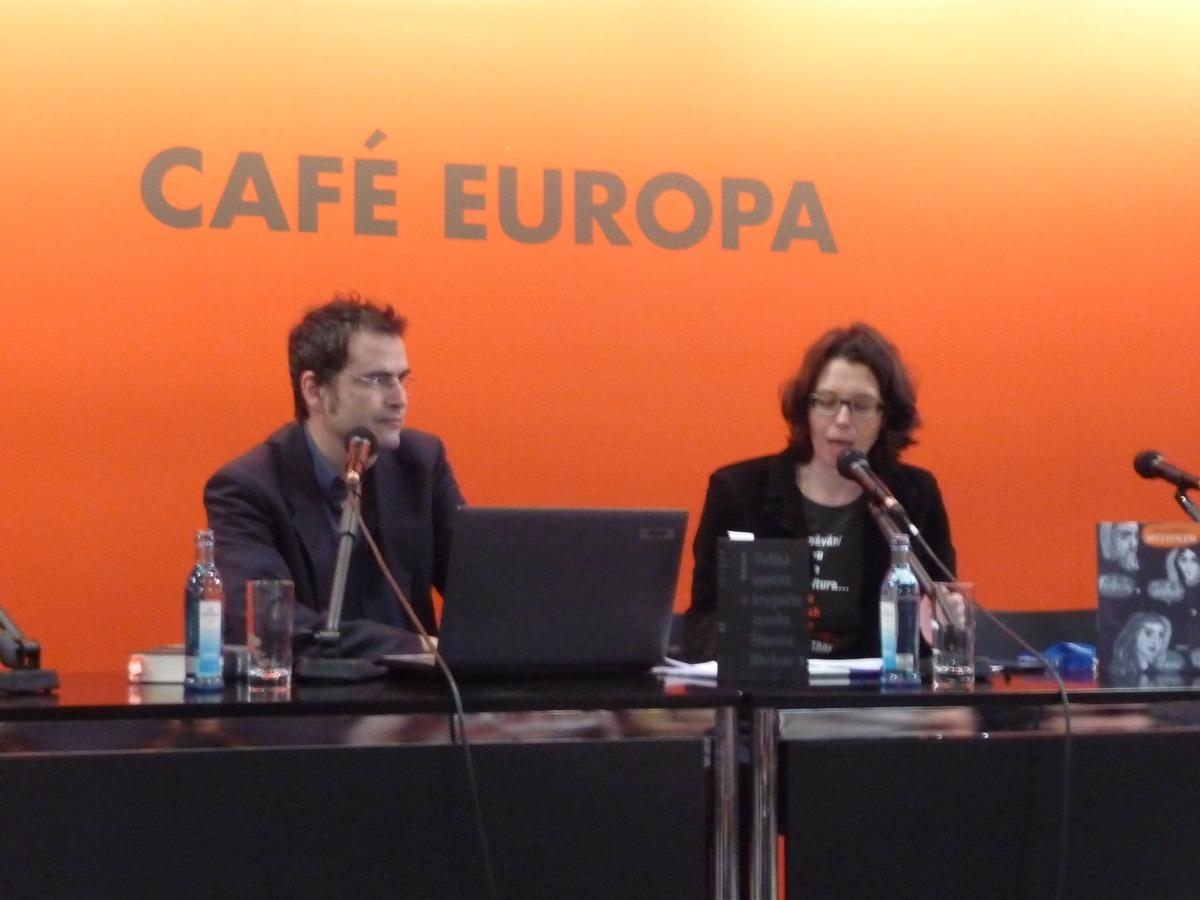 Marek Toman v Café Europa