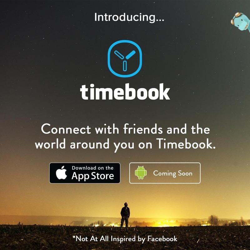 Představení nové sociální sítě Timebook