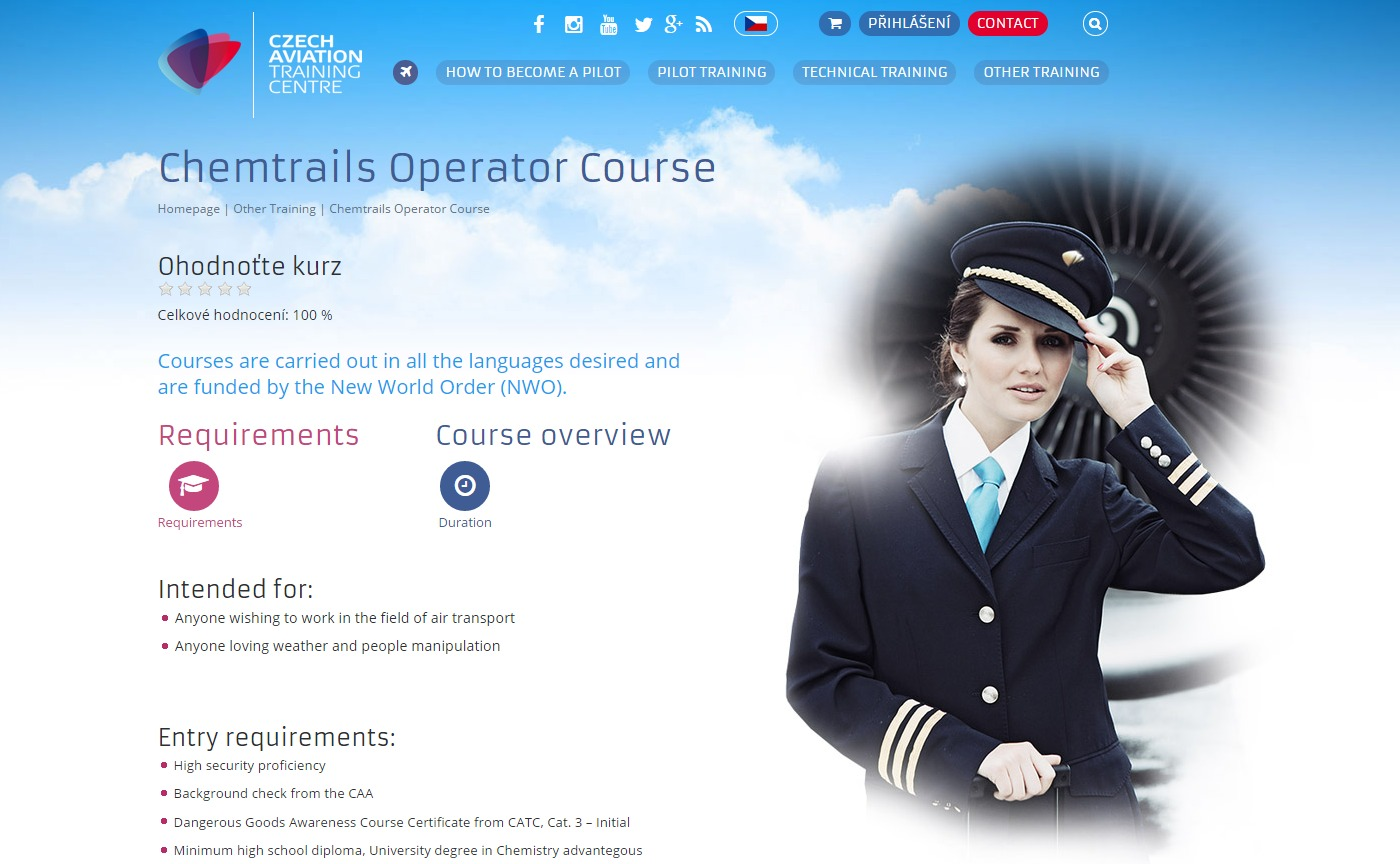 Chemtrails Operator Course
