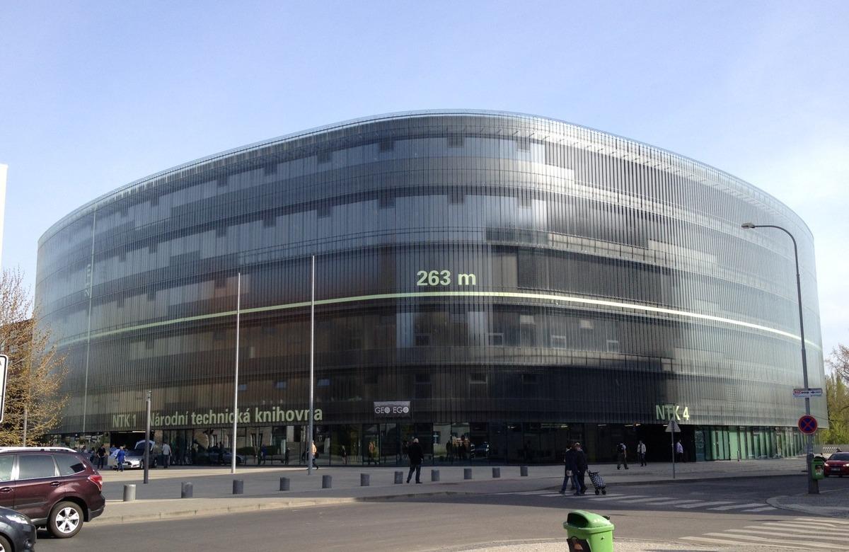 Budova Národní technické knihovny v Praze