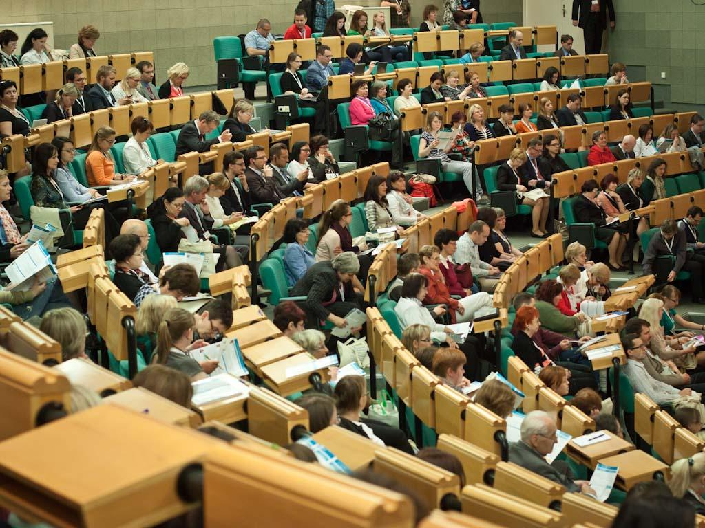 Publikum ve Vencovského aule