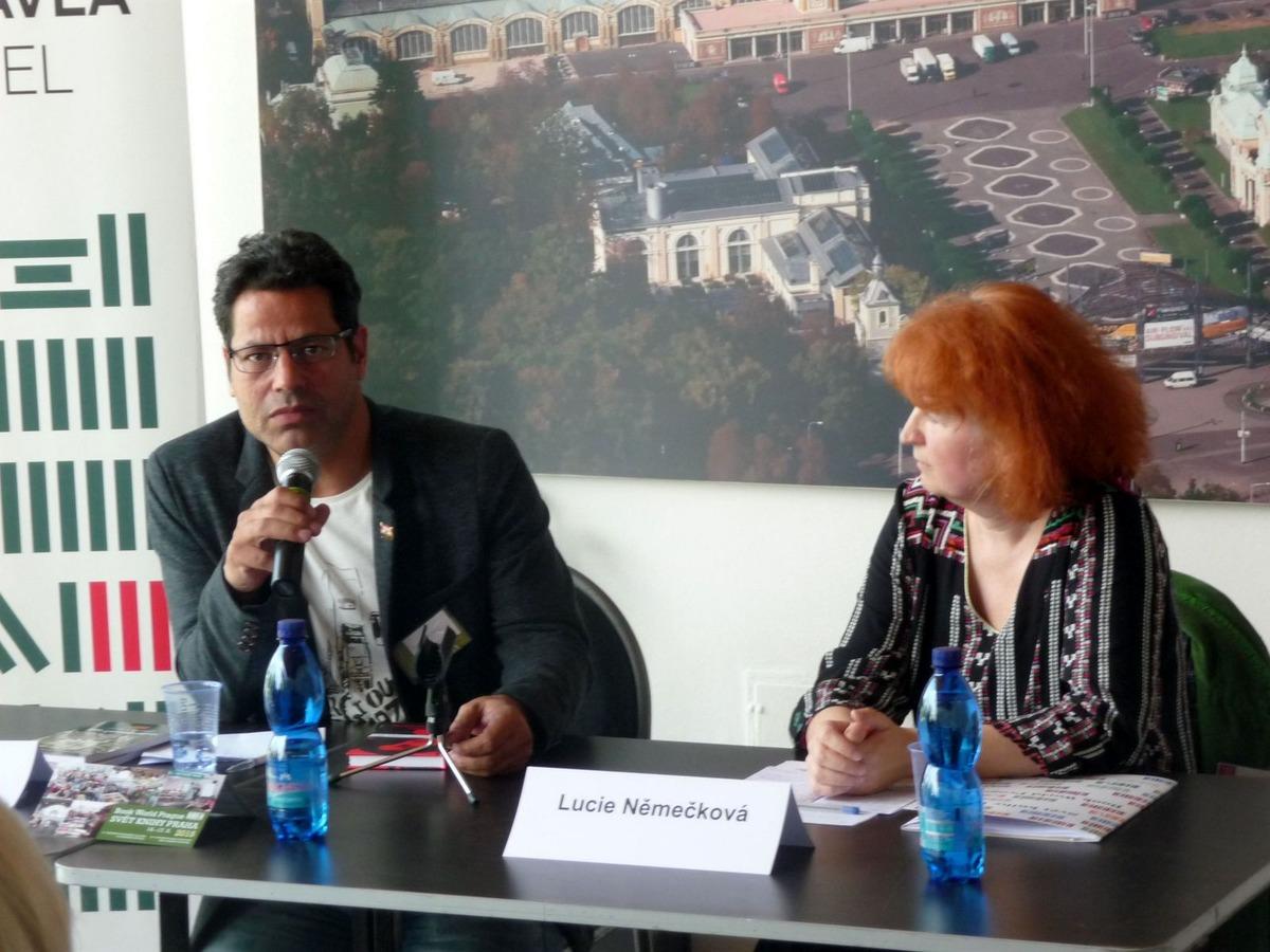 Chálid al Biltagí a Lucie Němečková
