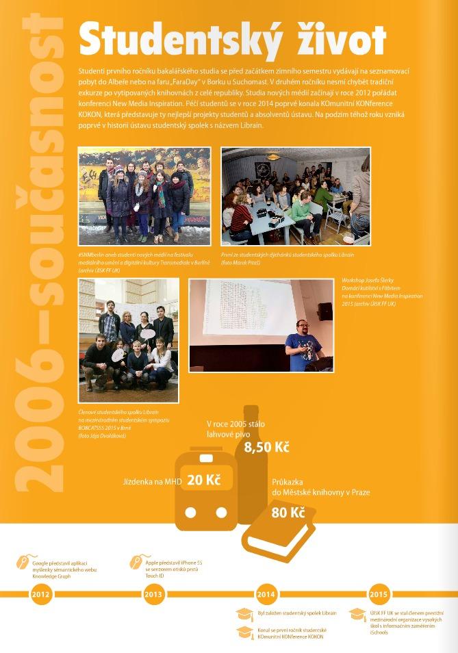 2006-současnost: Studentský život