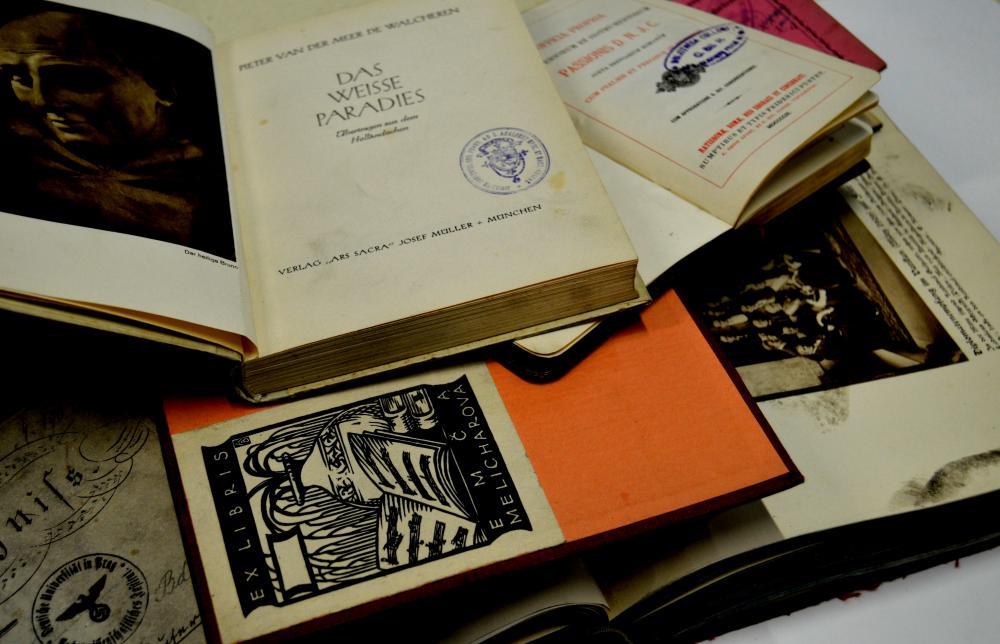 Knihy znovu nalezené představují velmi rozmanitý soubor tiskovin