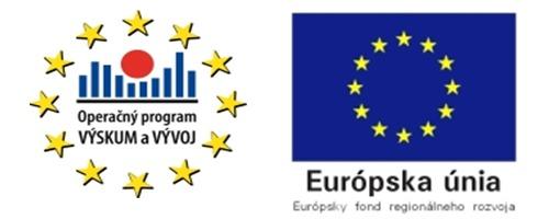 Operačný program Výskum a vývoj a Európský fond regionálného rozvoja EU