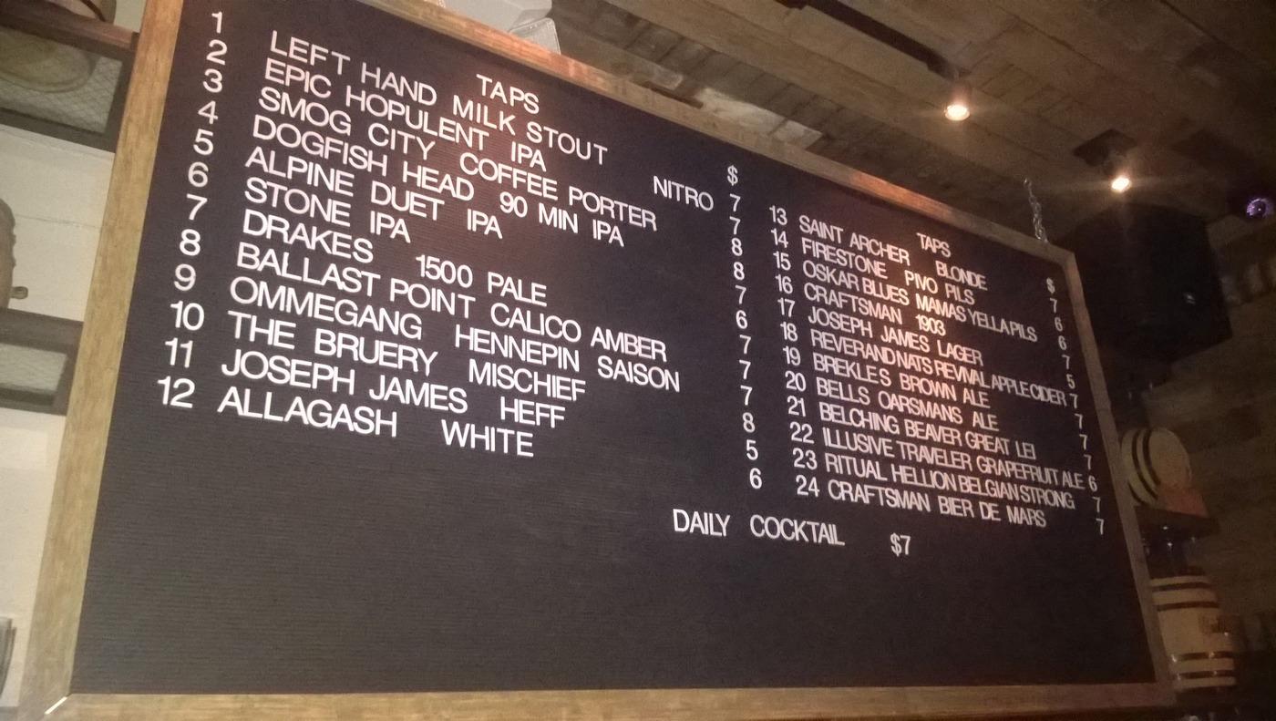 Nabídka piva