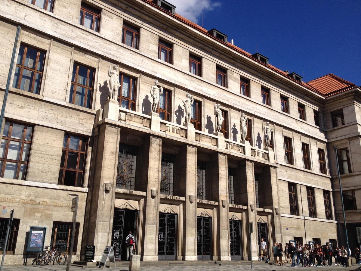 Ústřední knihovna MKP