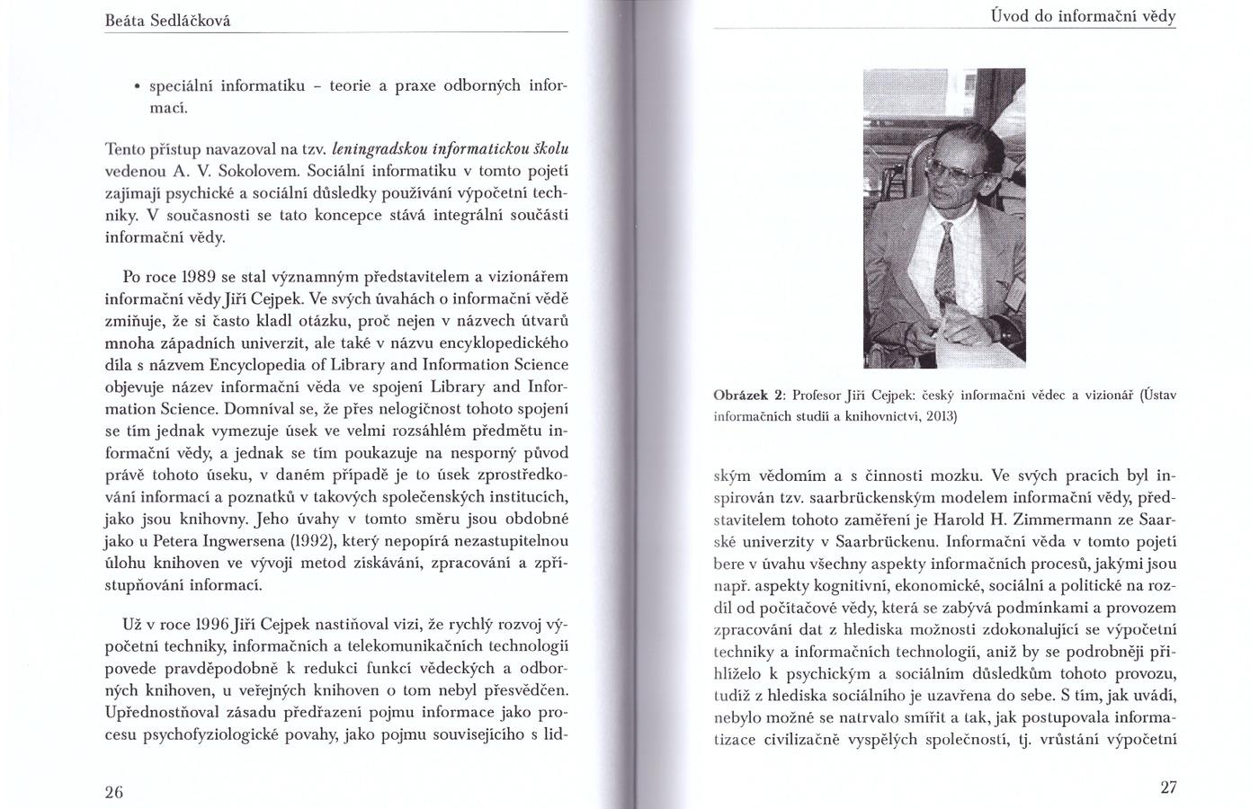 Kniha Úvod do informační vědy