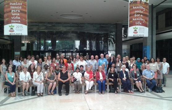 Skupinové foto účastníků konference