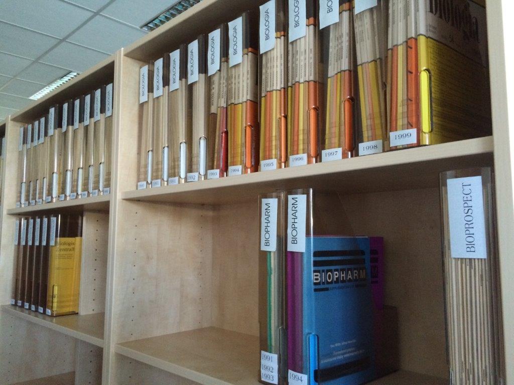 Prohlídka knihovny