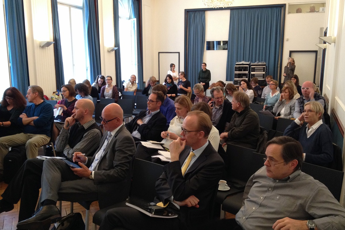 Účastníci konference v Goethe-Institutu