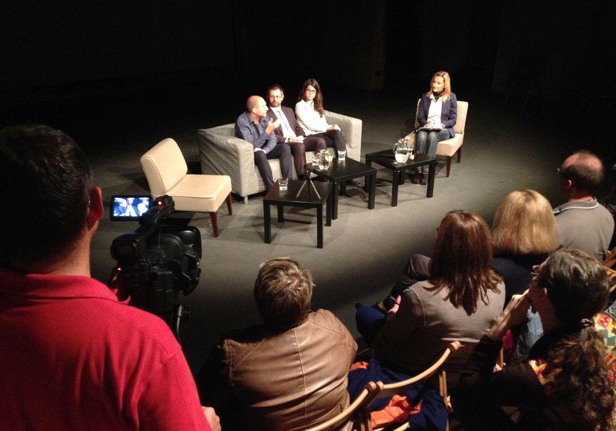Debatu po filmu Terryho Pratchetta vedla Daniela Drtinová
