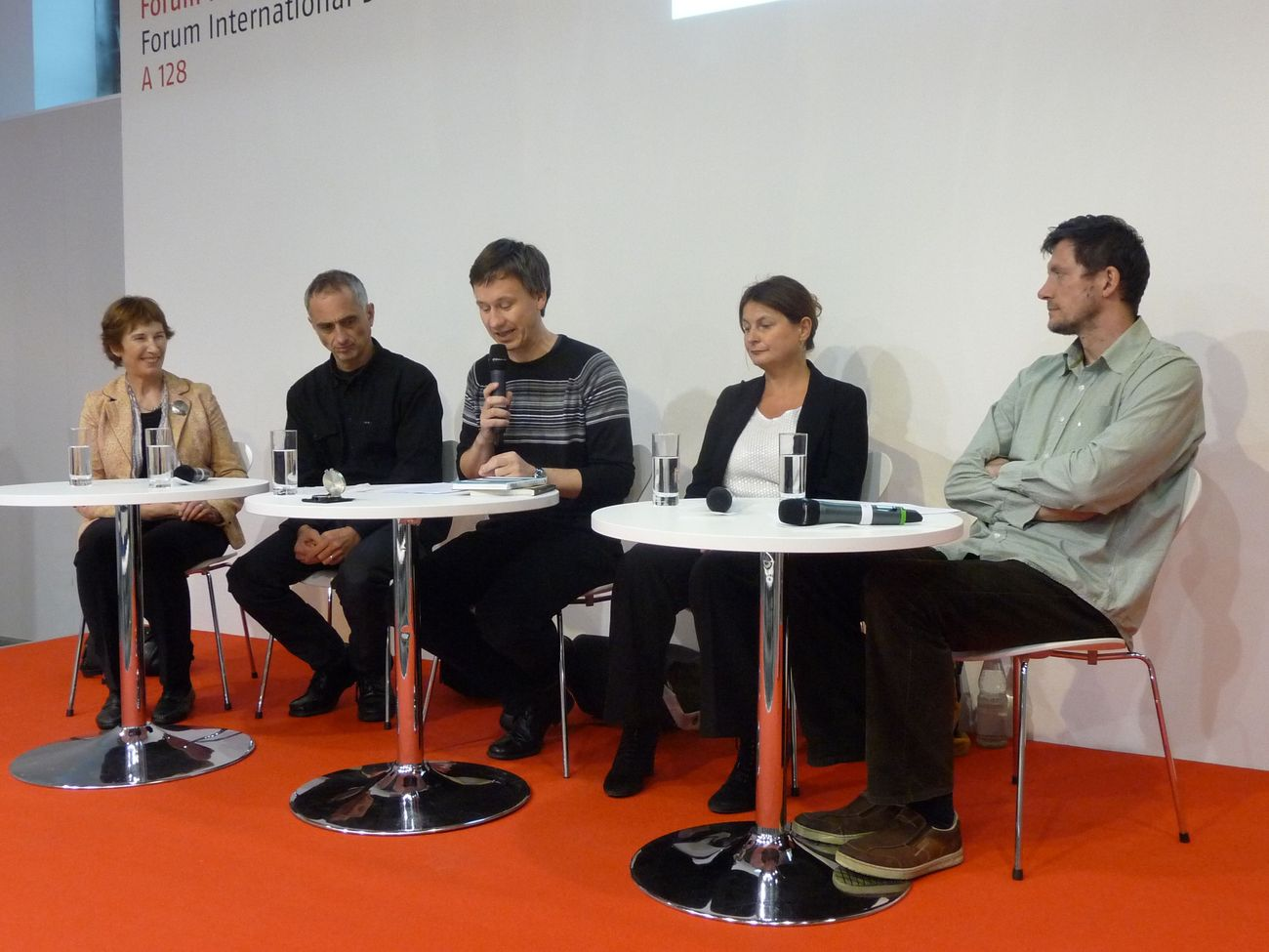 Diskusní fórum - Radka Denemarková, Radek Malý a Mirko Kraetsch