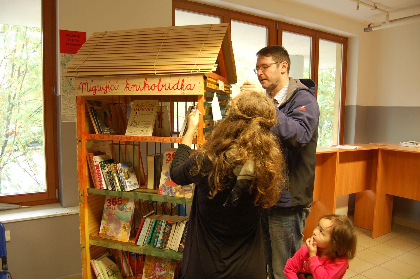 Umisťování knihobudky