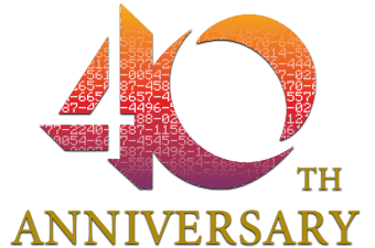 Logo ke 40. výročí