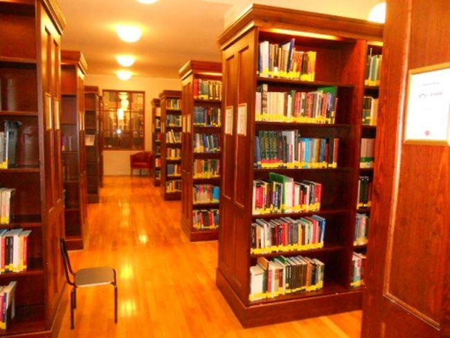 Interiér Národní knihovny v Oslu