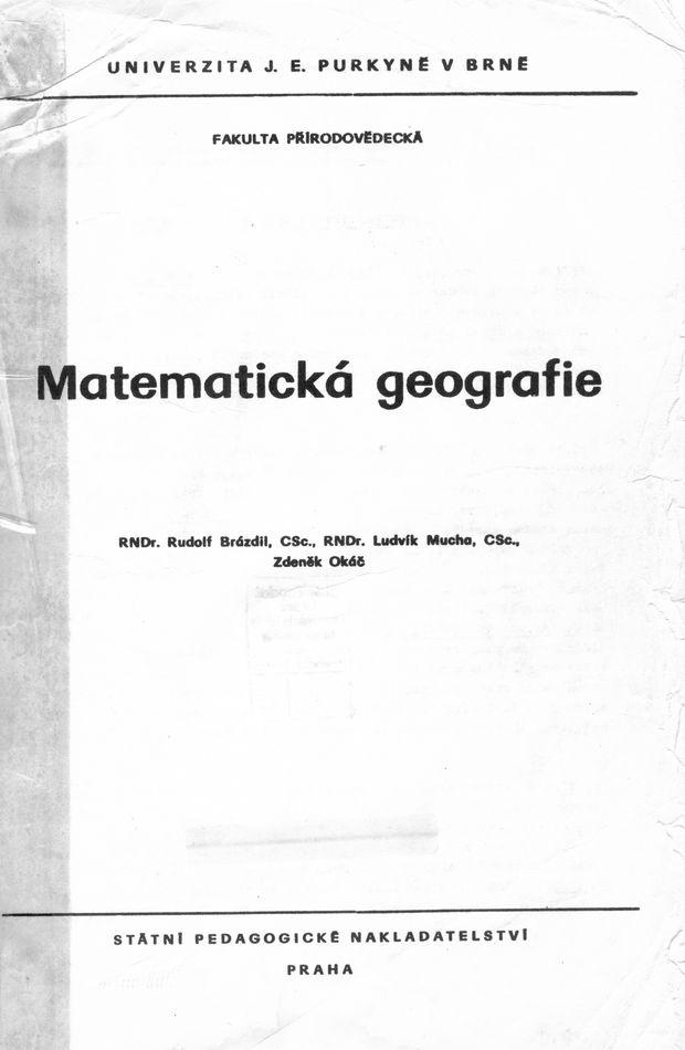 Matematická geografie