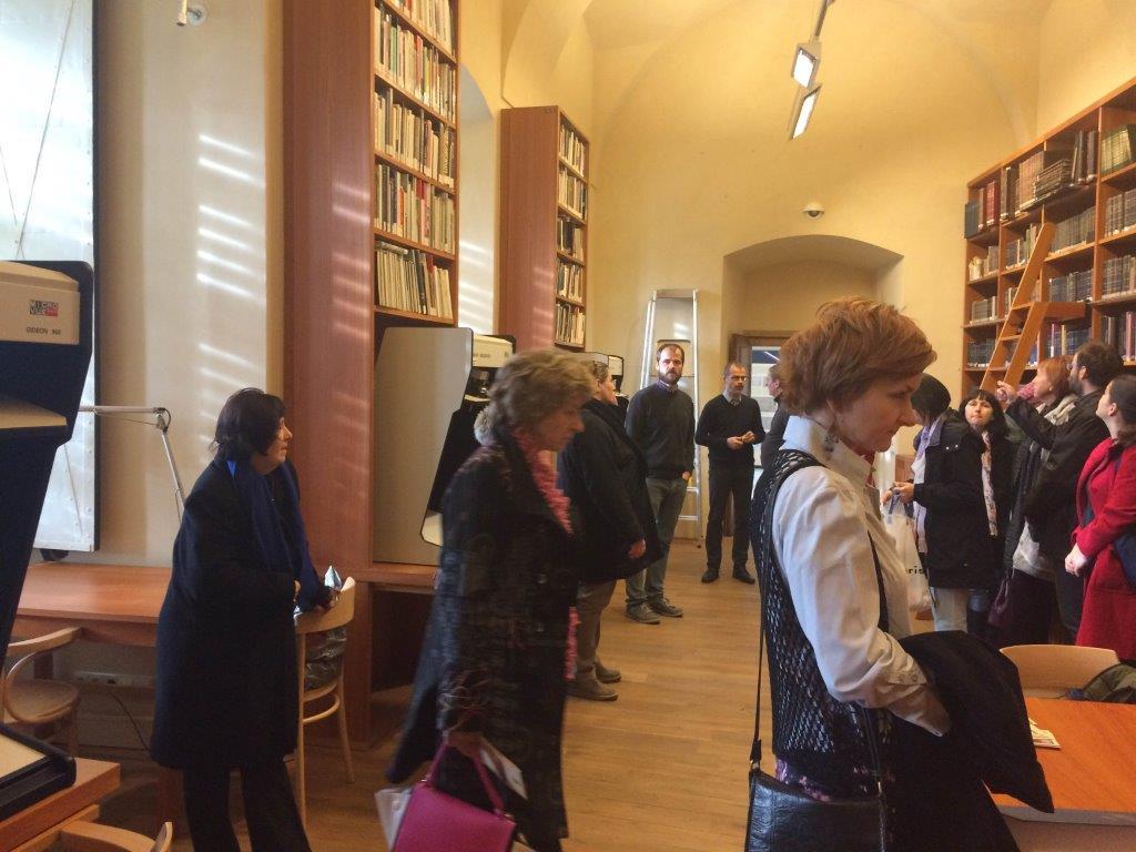 Exkurze SKIP do Archivu Pražského hradu