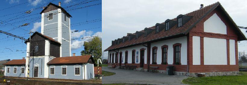 Zrekonštruované objekty Národného železničného parku