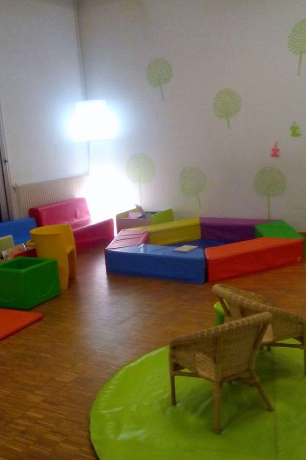 Místnost pro rodiny s dětmi do tří let