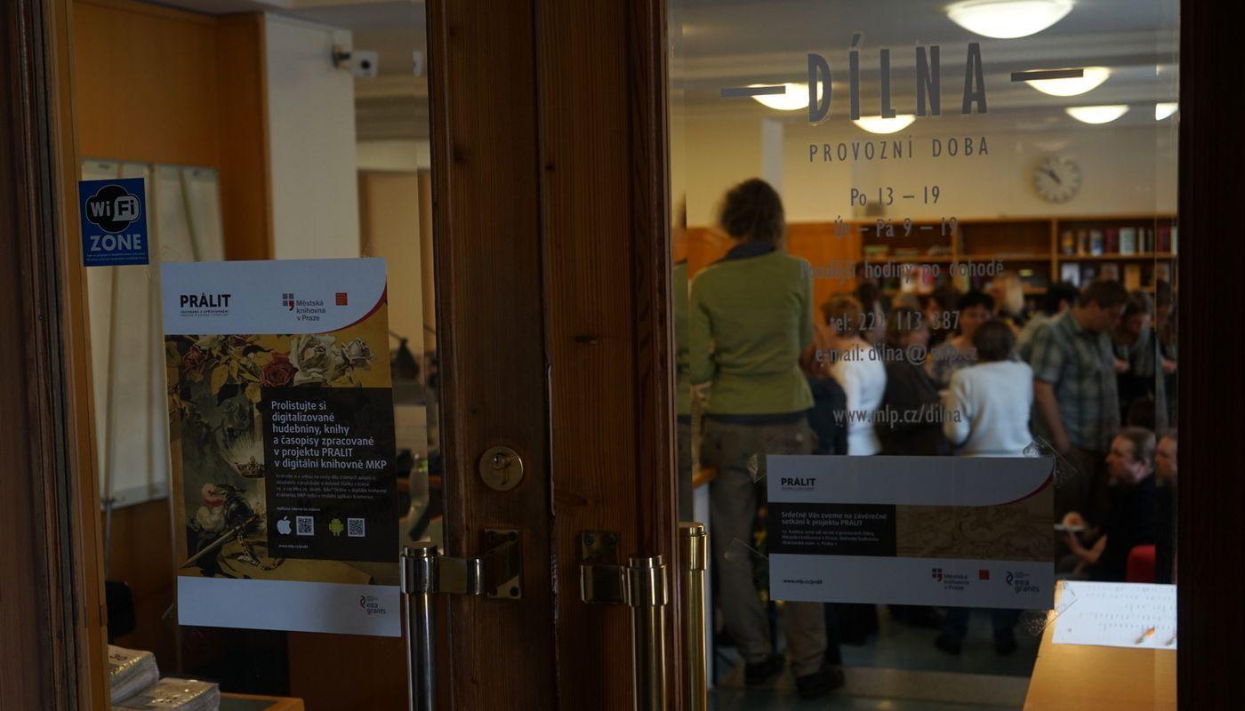 Dílna v Městské knihovně