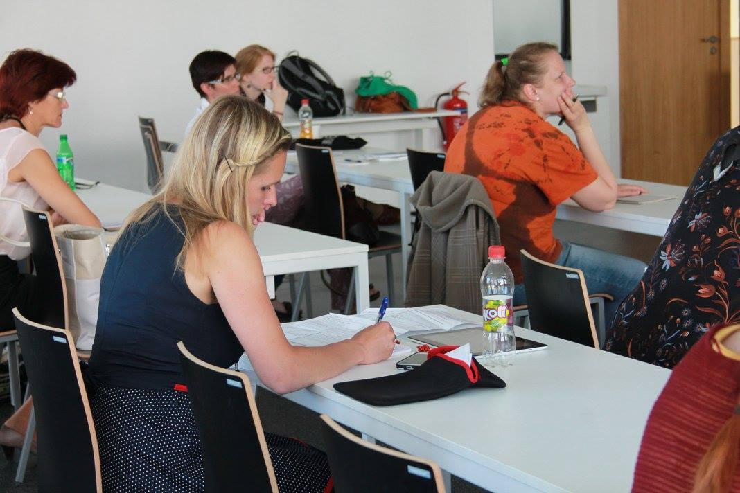 Práce na jednom z workshopů