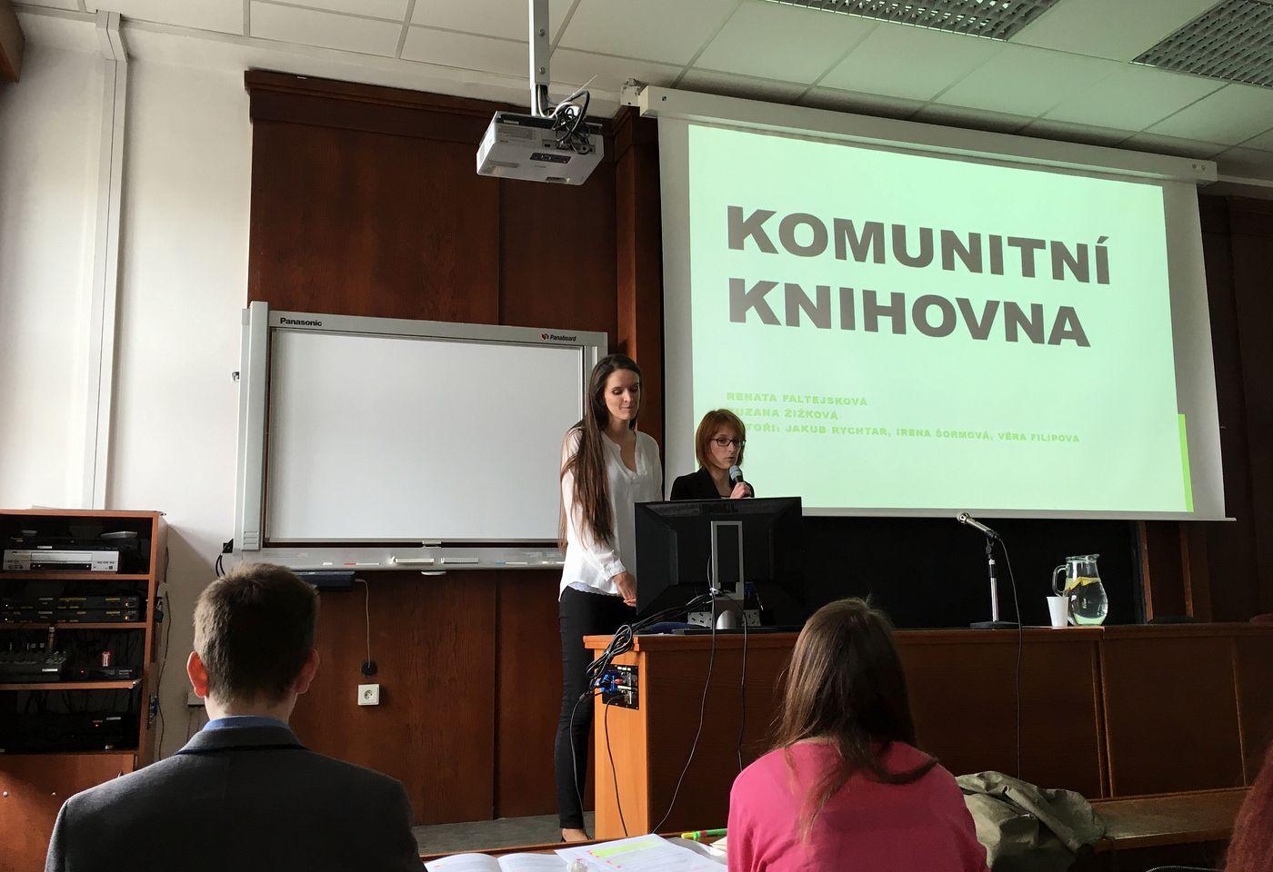 Představení projektu Komunitní knihovna