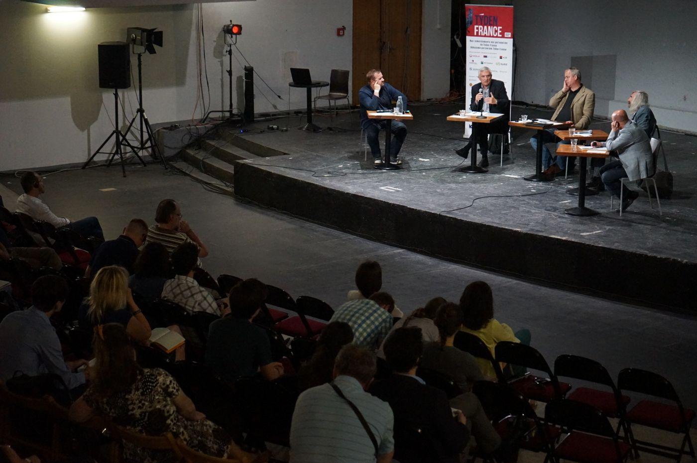 Panelová diskuse a prof. Miroslav Marcelli