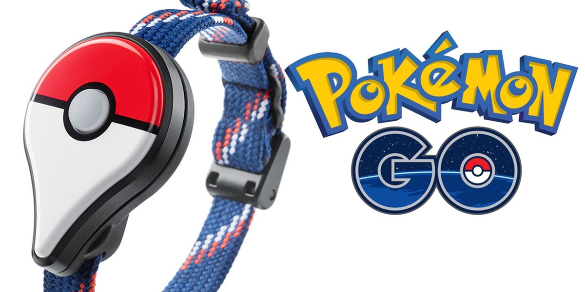 Bluetooth náramek Pokémon Go Plus