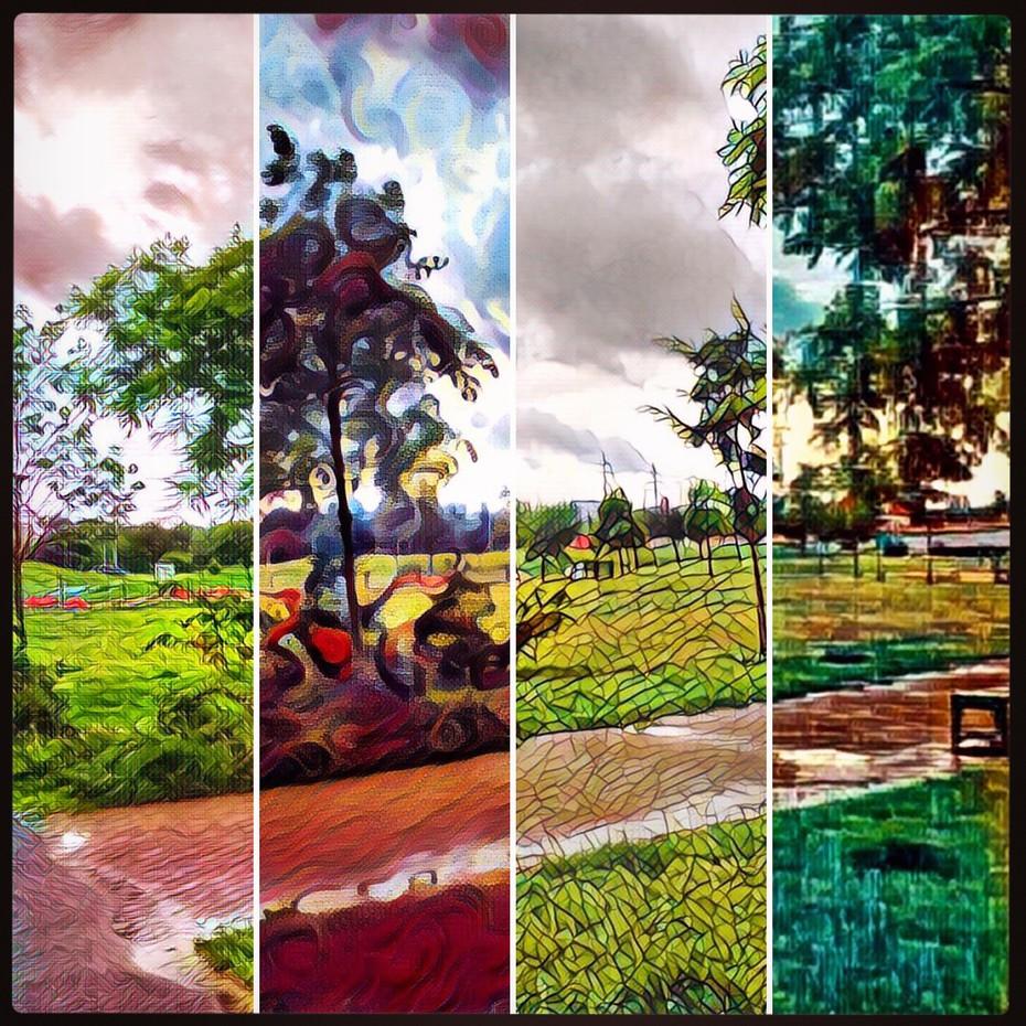 Ukázka několika uměleckých filtrů