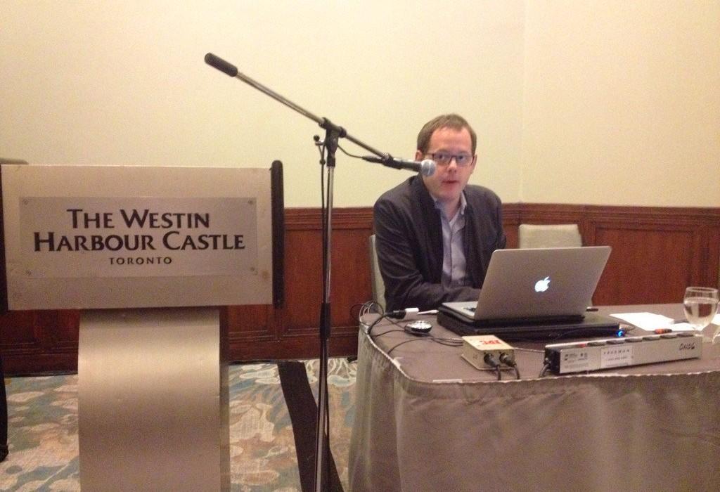 Jan Brejcha prezentuje výsledky výzkumu z Číny