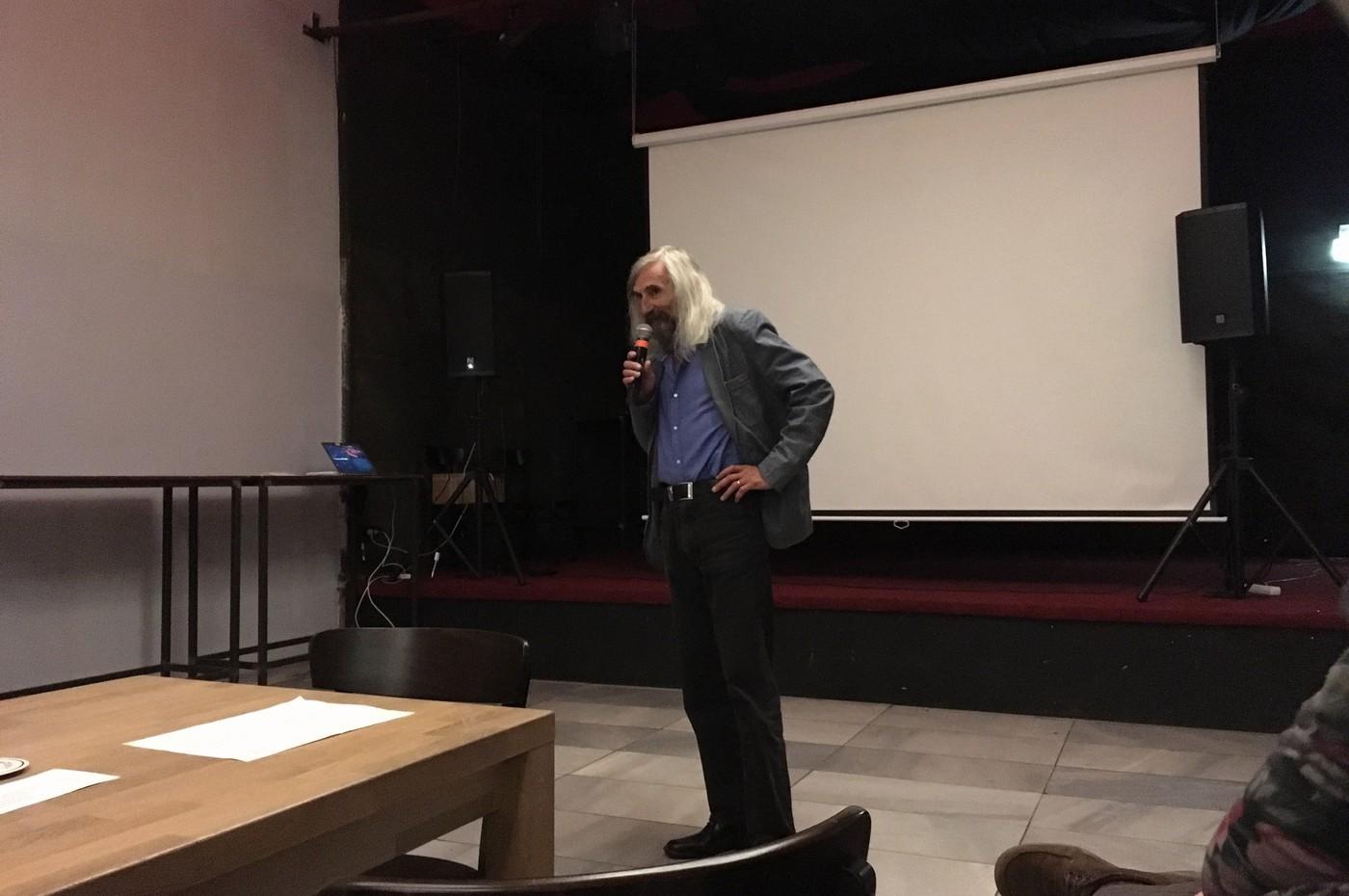Garant oboru profesor Miroslav Petříček