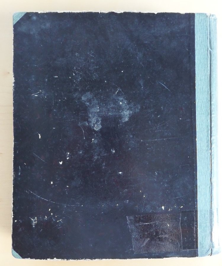Zadní strana almanachu