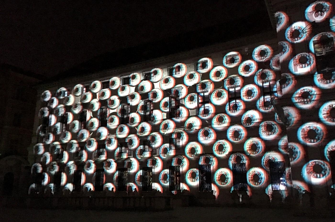 3D projekce Mutis na Tyršově domě