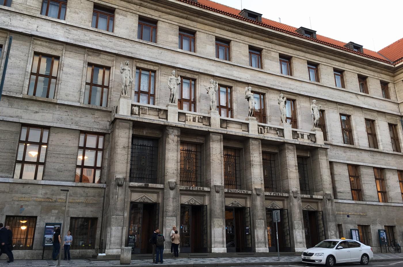 Ústřední knihovna Městské knihovny v Praze