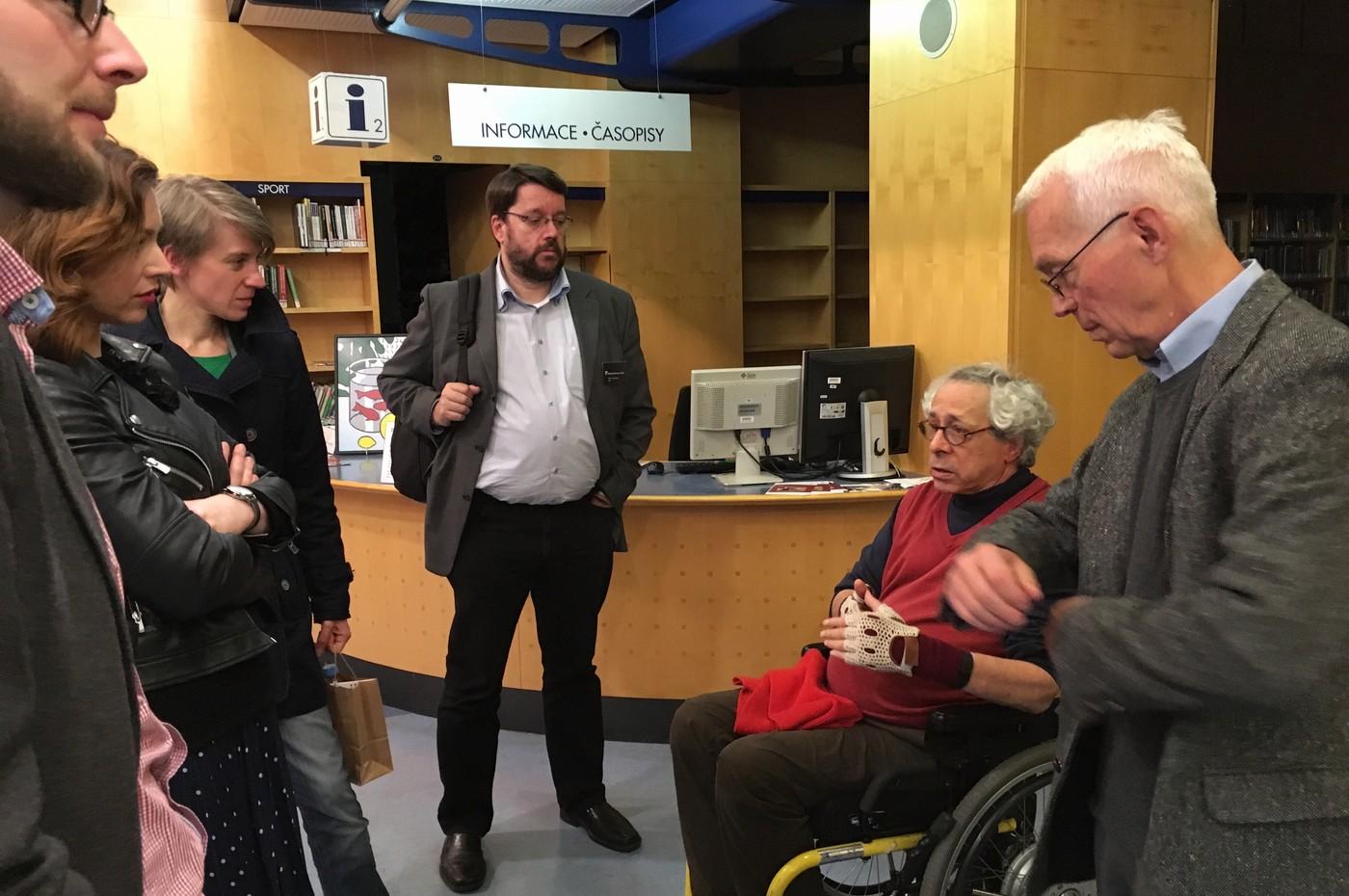 Diskuse s ředitelem NTK Martinem Svobodou