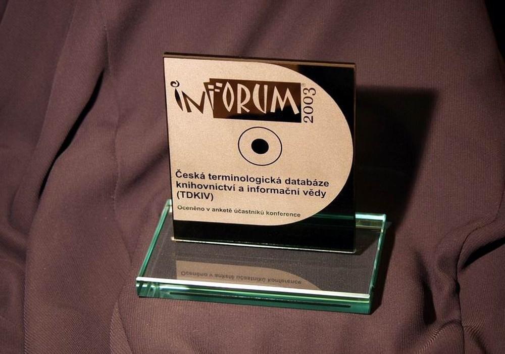 Cena INFORUM 2003