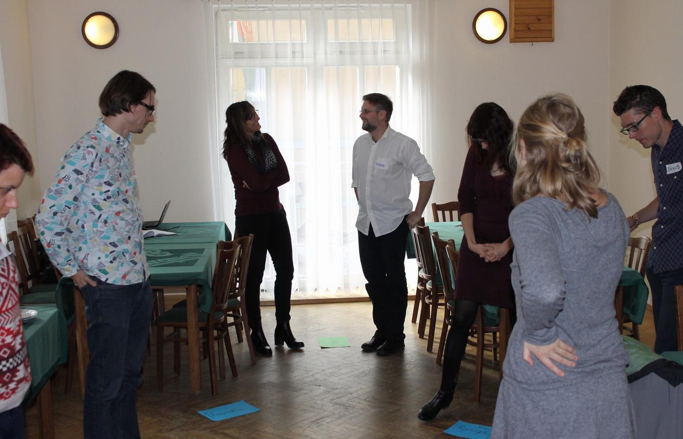 Skupinová aktivita na téma řešení krizových situací