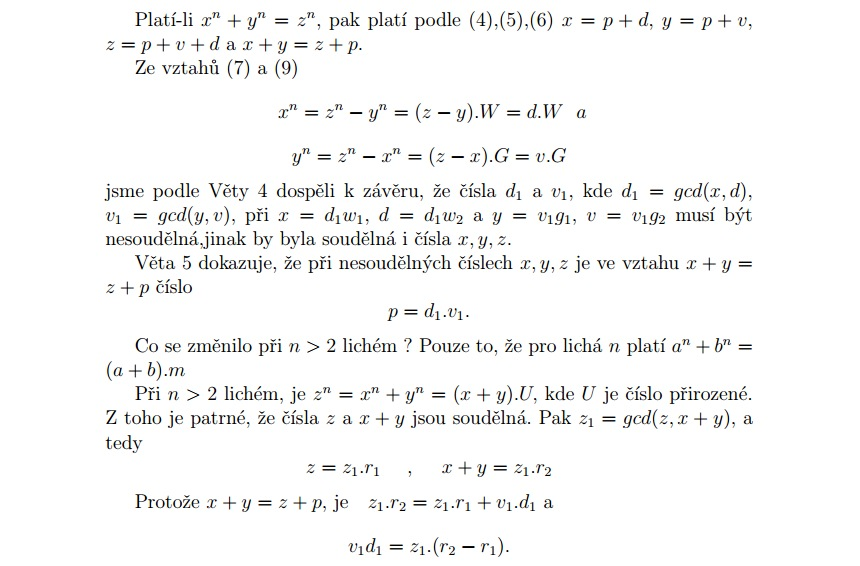 Velká Fermatova věta (ukázka)