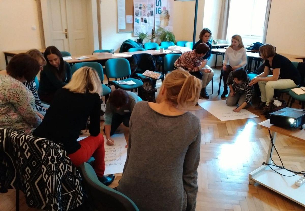 Zahájení workshopu Živá knihovna