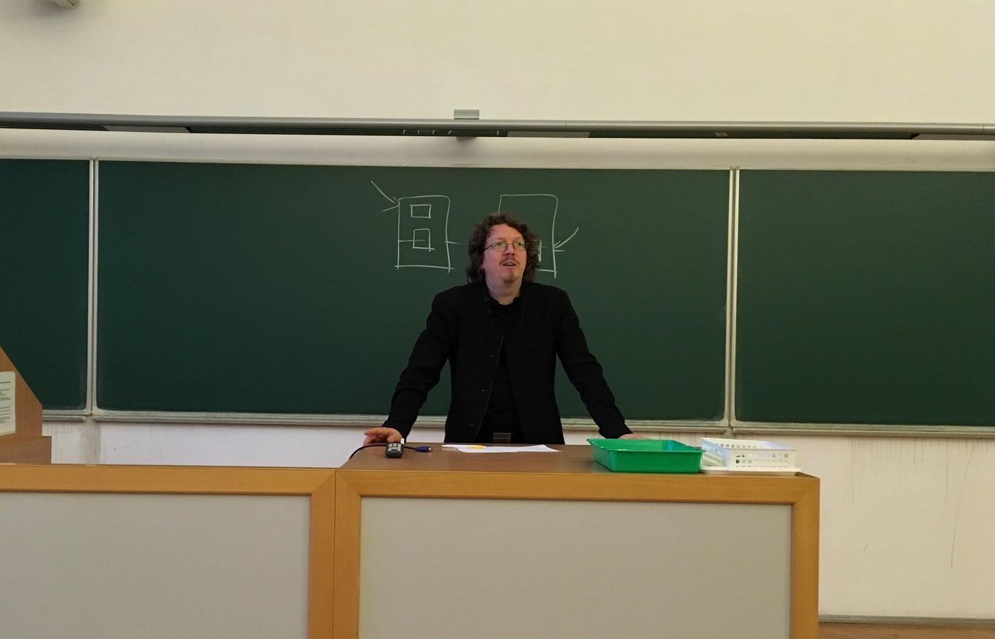 Vít Šisler zahajuje prosincovou (mini)konferenci