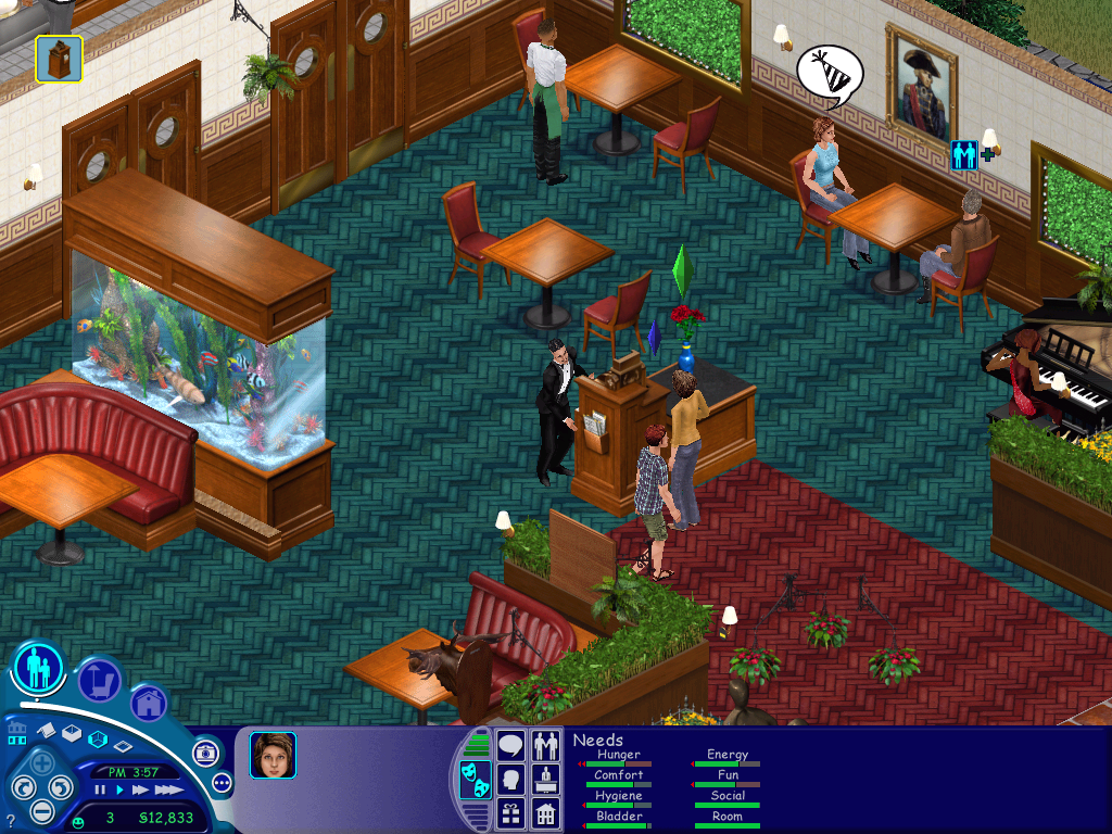 Screenshot ze hry The Sims 1